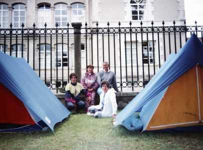Acampada pola Pontesa