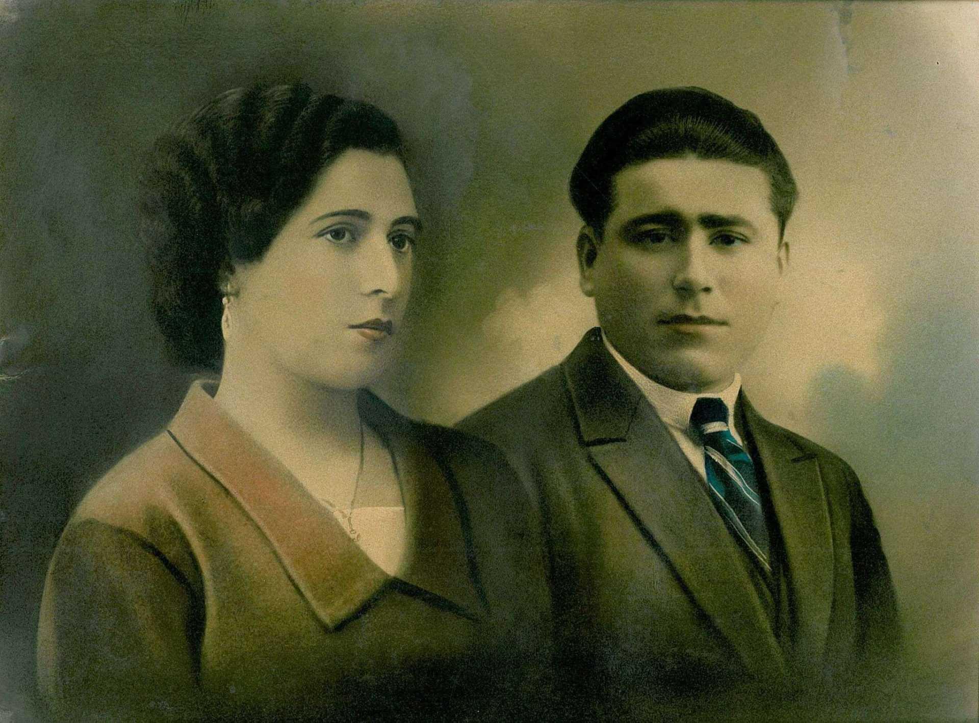 Isolina Villaverde e Aurelio Torres