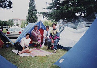 Acampada Pontesa