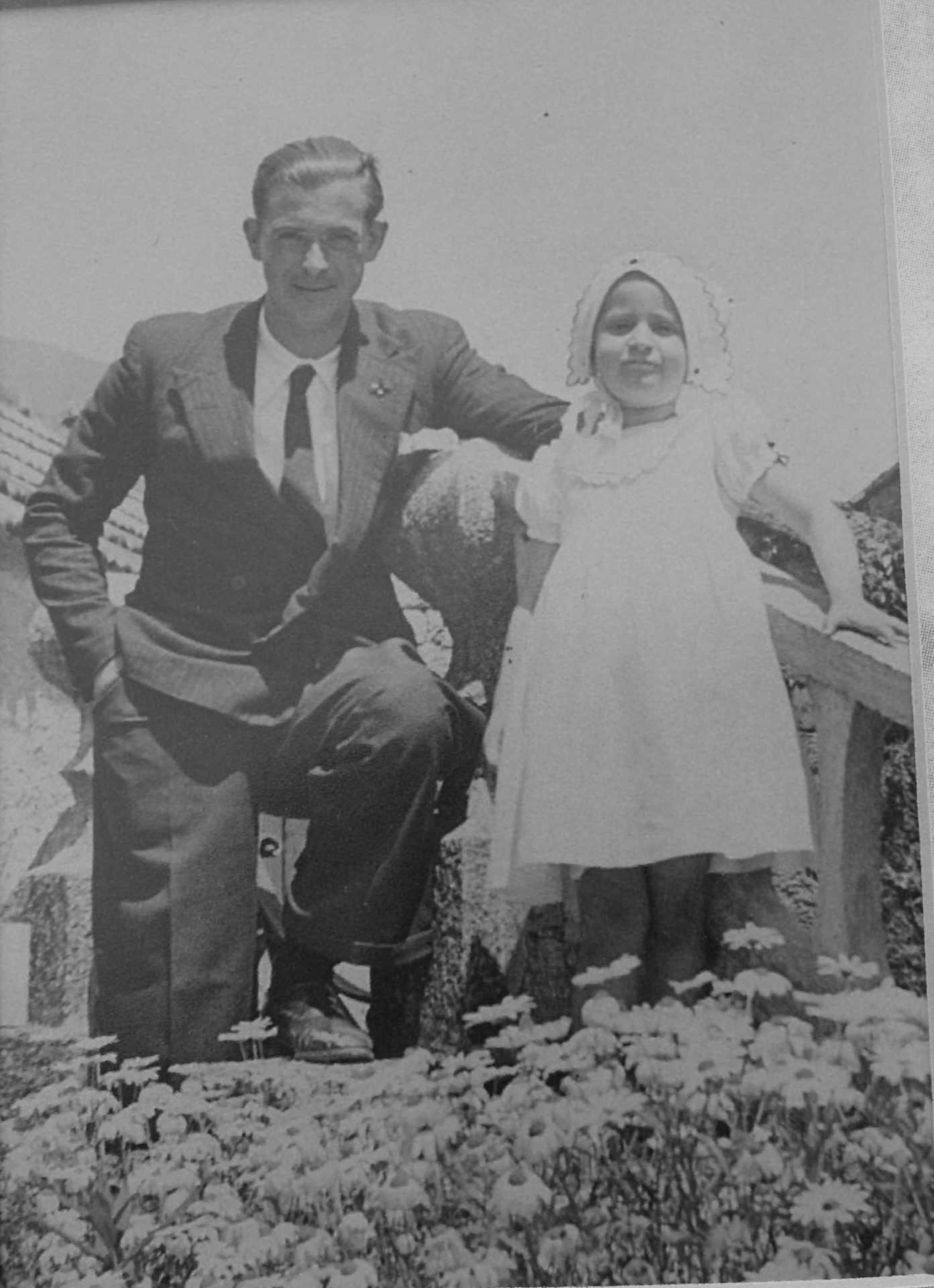 Nené con Joaquín González en Barcia