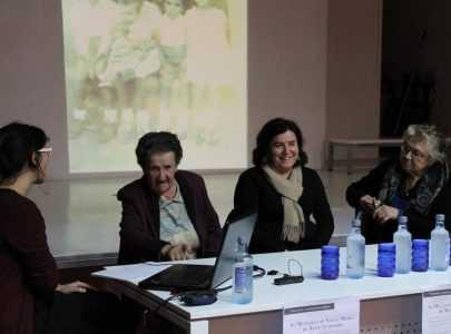 Fotografías e historias de muller en primeira persoa en  Santa María de Xeve