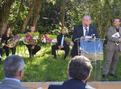 Inauguración da avenida Josefina Arruti