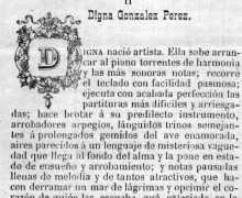 Nova sobre Digna González