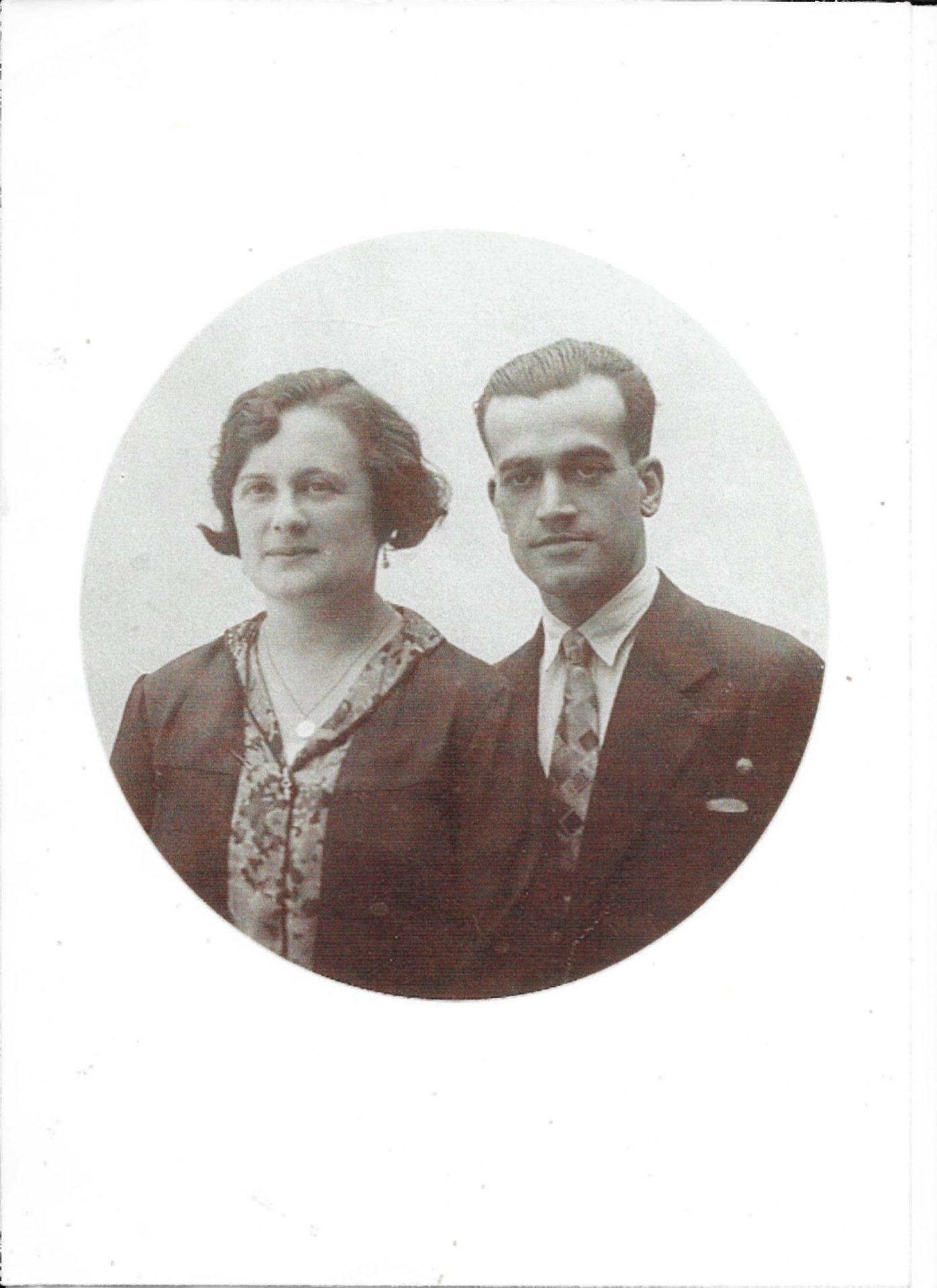 Carmen Julián López e Víctor Casas