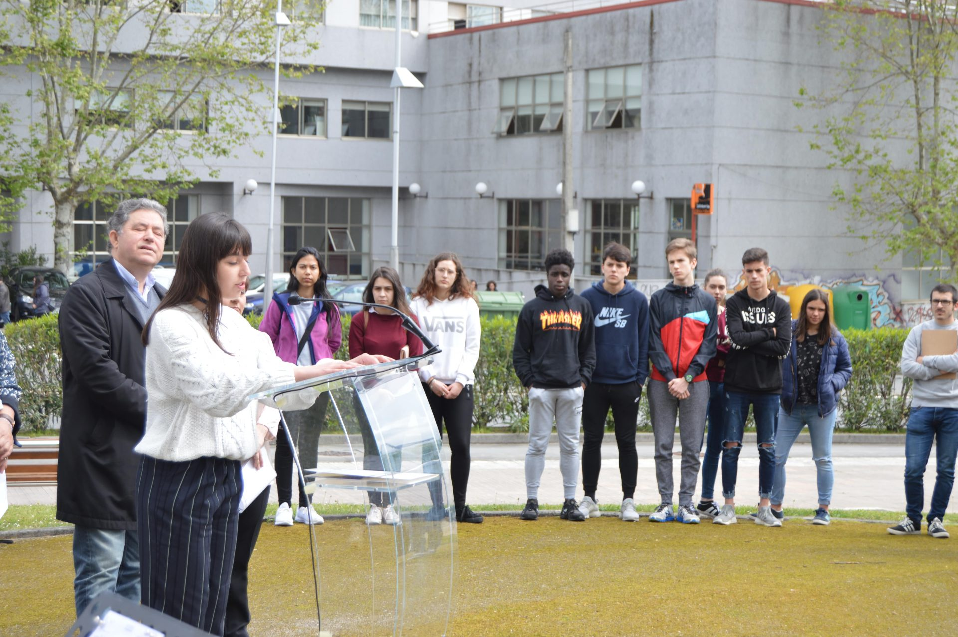 Presentación da Rúa Mª Victoria Moreno