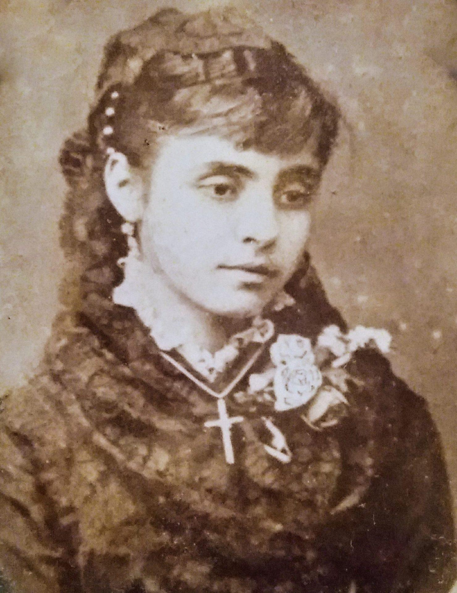 María Chaves de nena