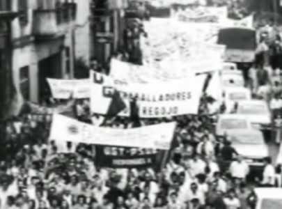 Protesta polo peche de Regojo