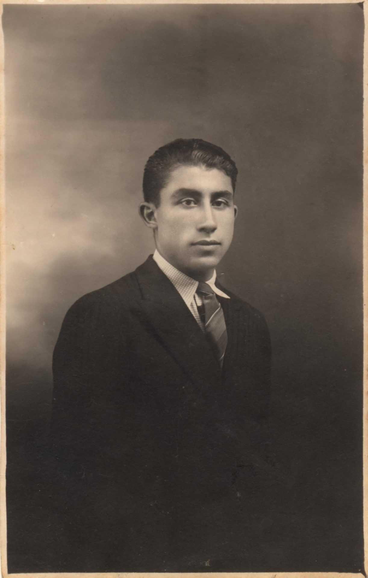 Edelmiro Dios, fillo de Josefa Vázquez