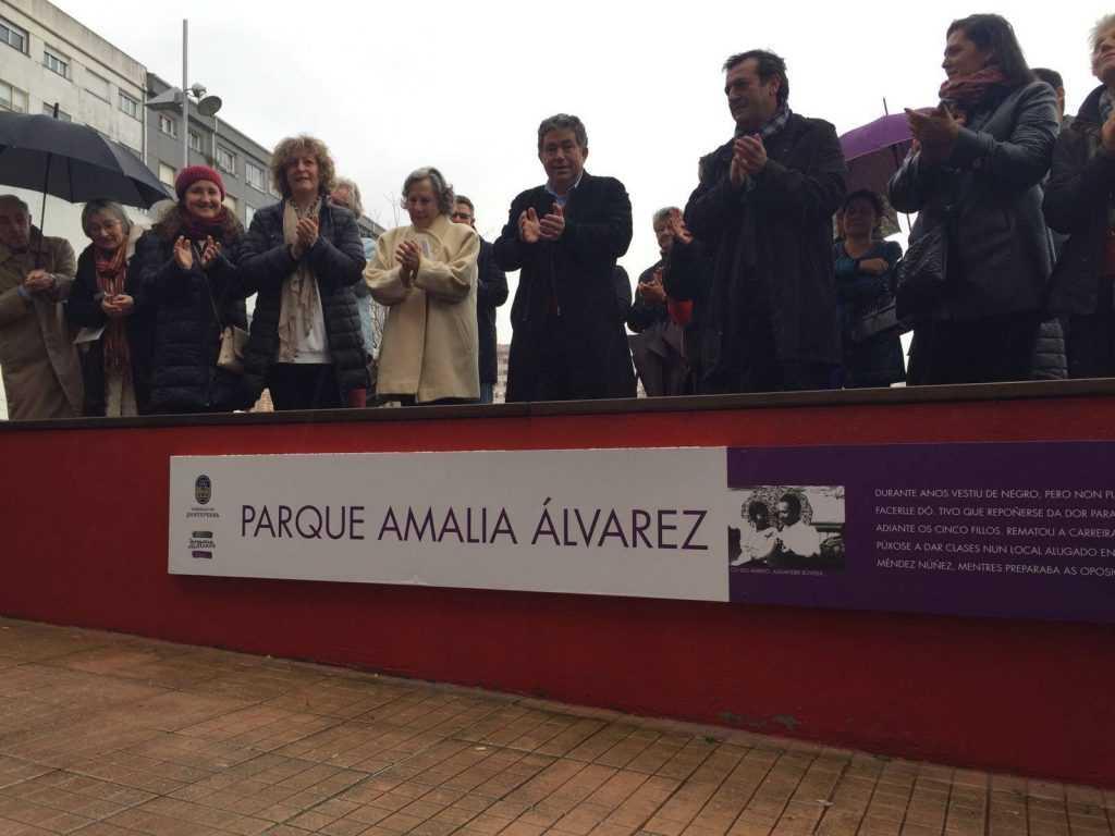 Inauguración do Parque Amalia Álvarez