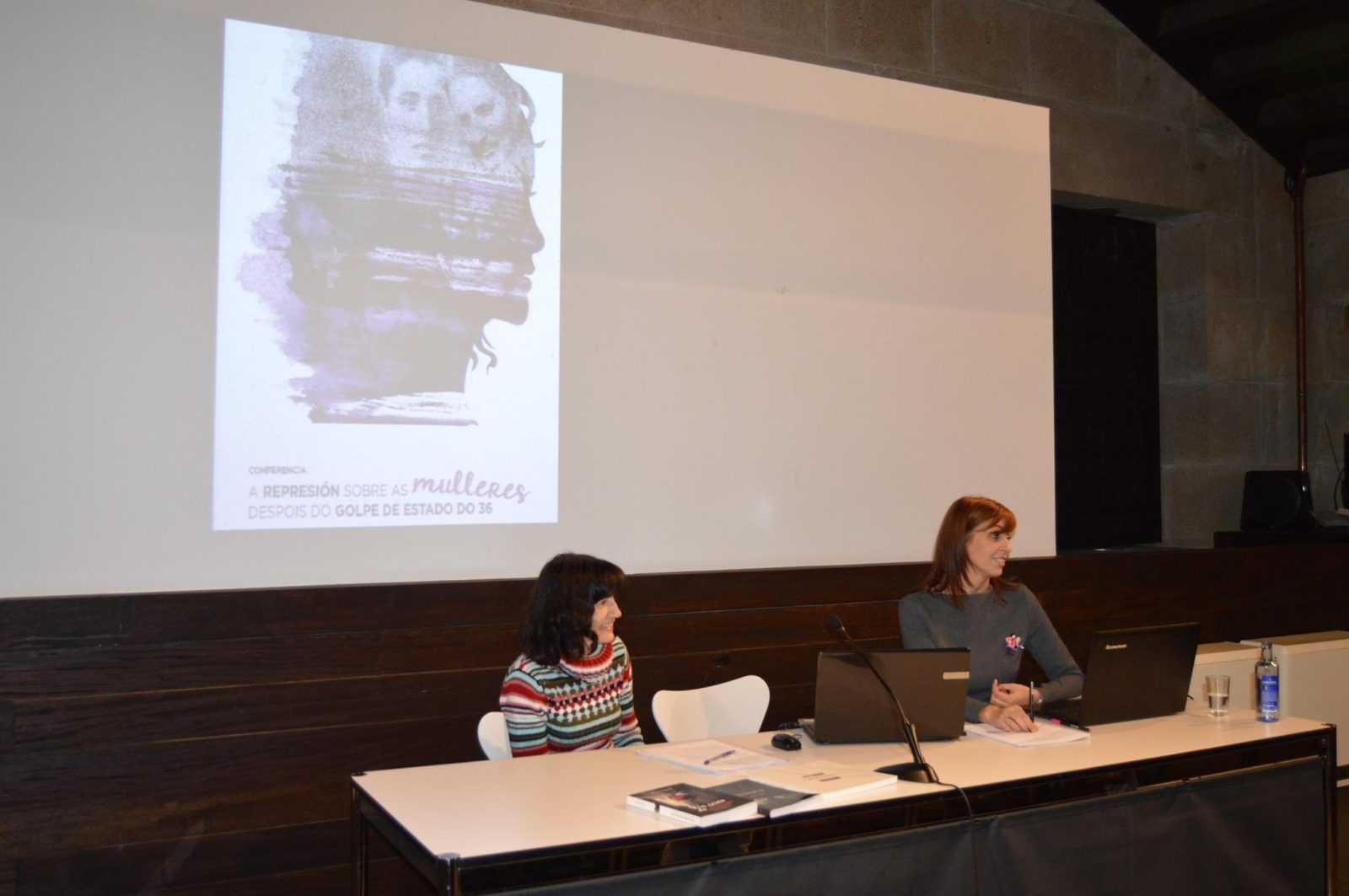 'A Memoria das Mulleres' recupera as biografías das  dúas únicas mulleres fusiladas en Pontevedra