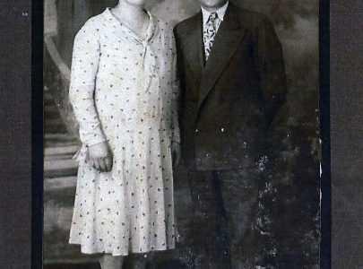 Adelina Gama e o seu home Antonio Lorenzo