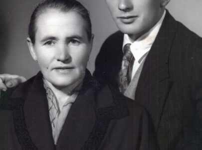 Carmen Casalderrey e o seu fillo Francisco