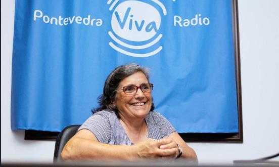 Pontevedra Viva Radio. Do gris ao violeta #10. Estrella Cortegoso Otero
