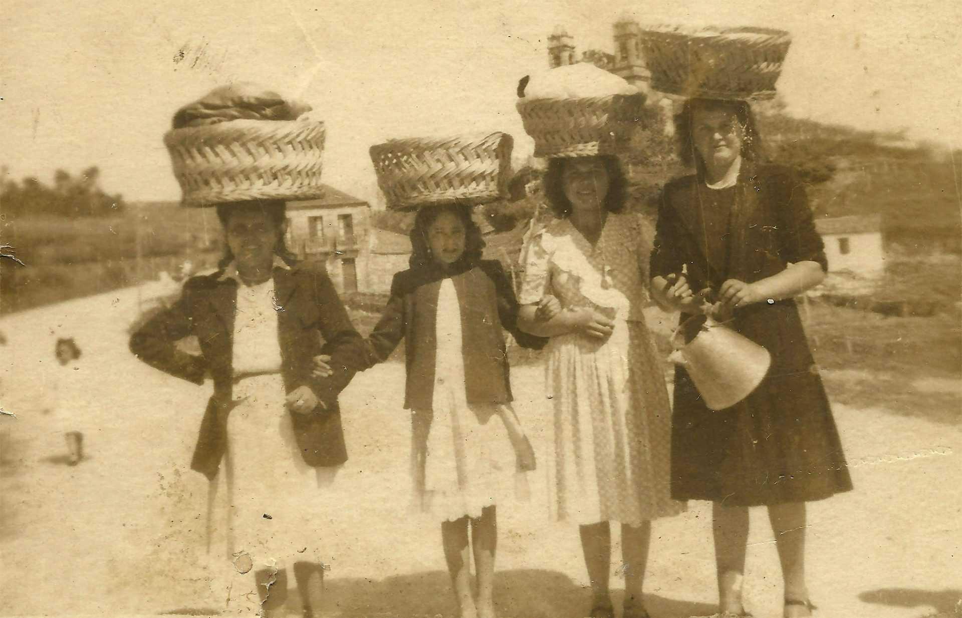 Carmen, Dolores, Concha e Lucía