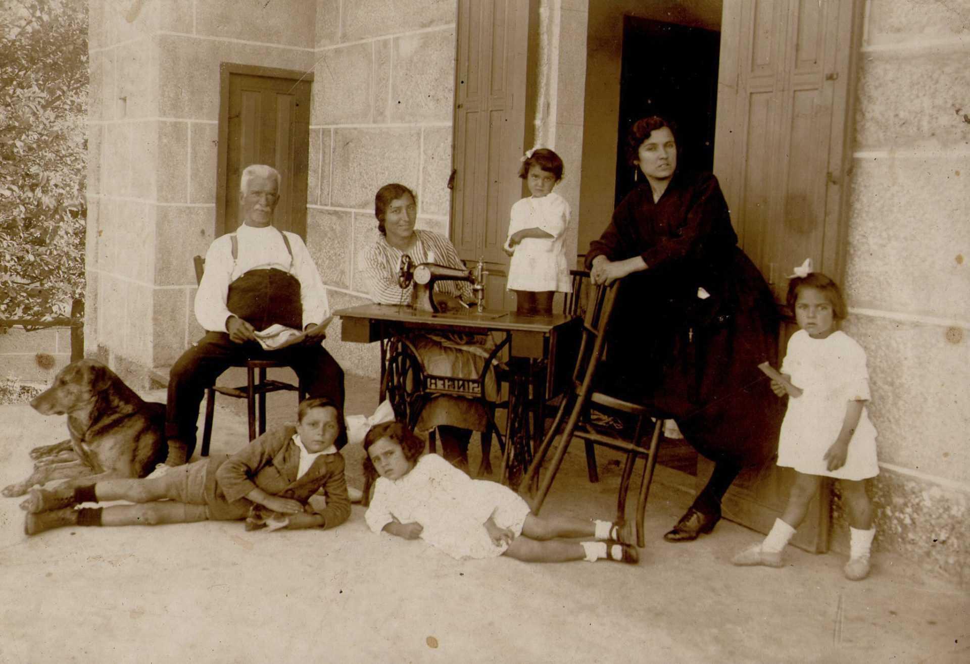 Familia de Mercedes Pazos González