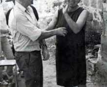 Matilde García Ruibal e o seu marido