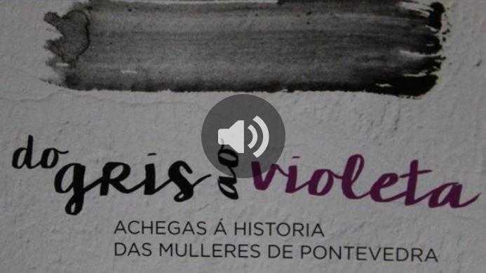 Onda Cero: Carme Fouces sobre o mapa simbólico de Pontevedra desde a historia das mulleres