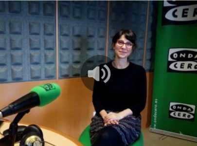 Xiana Iglesias entrevistada en Onda Cero