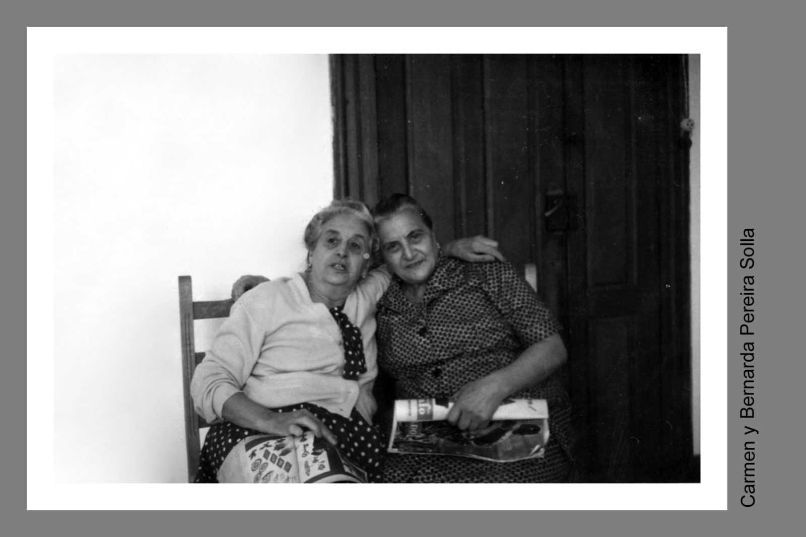 Bernarda e Carmen, a súa irmá