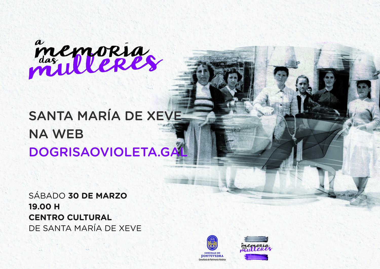 Santa María de Xeve na web dogrisaovioleta