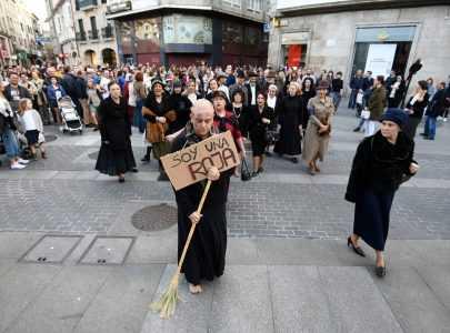 O roteiro teatralizado Rúas con Memoria dá a coñecer a represión sufrida polas pontevedresas
