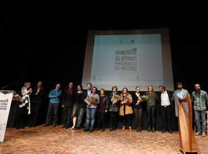 Pontevedra rende homenaxe ás vítimas pontevedresas do nazismo