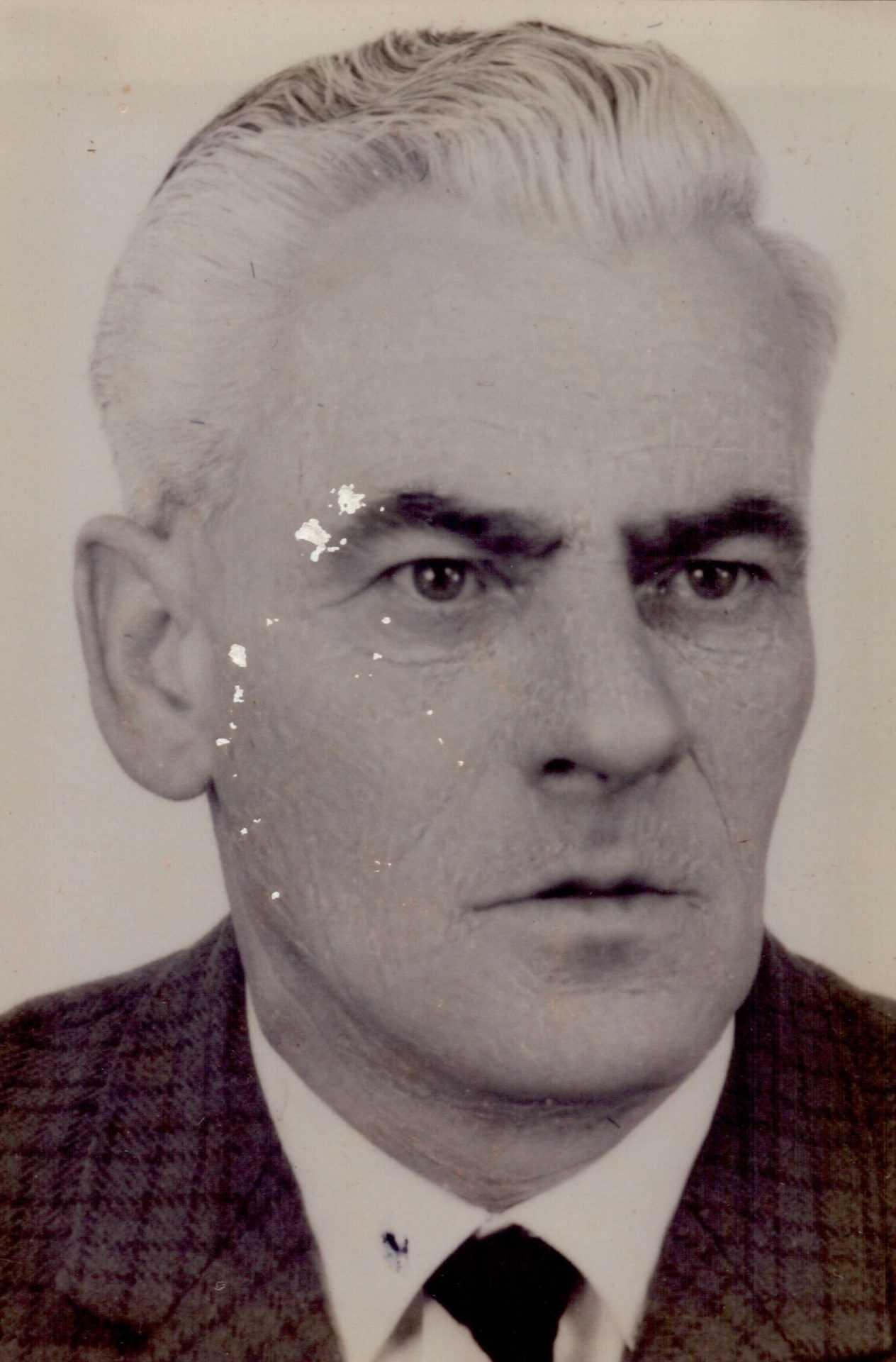 O mestre Severino Tomé Loureiro