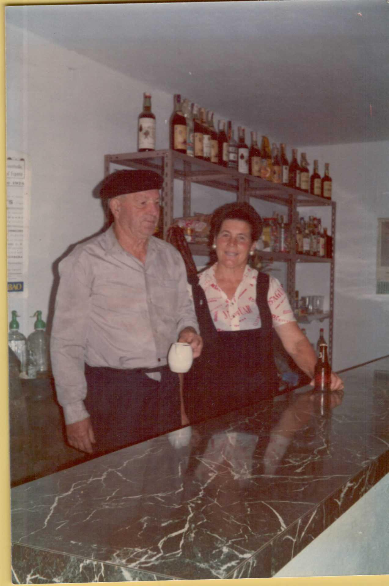 Lali co seu pai Severino Carro