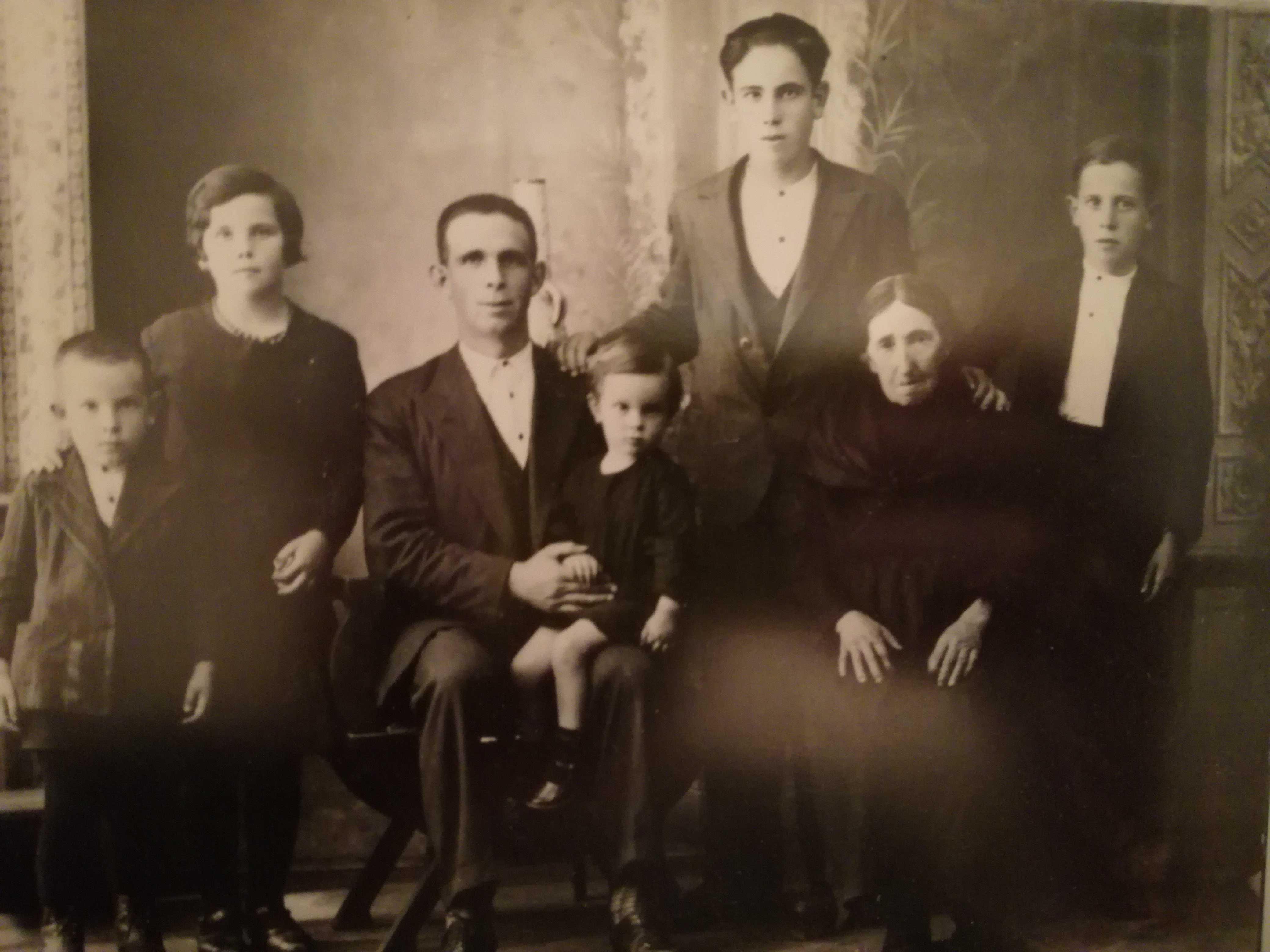 Fotografía da familia Jar