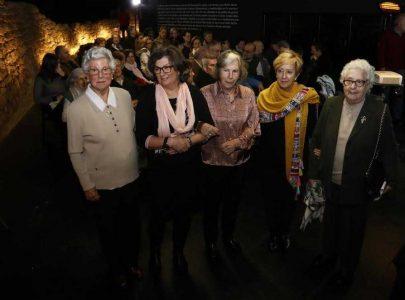 Margarita Caballero entre as participantes no Encontro-coloquio sobre memoria histórica de 2016