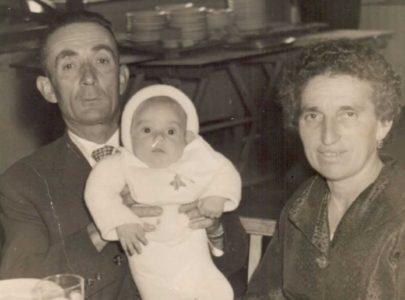 América Méndez Acuña e o seu home, Andrés Estévez