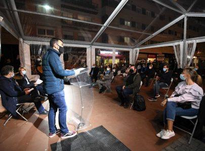 Imaxe do acto 'Pontevedra exiliada' celebrado no día 12 de novembro